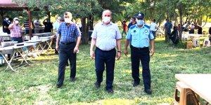 Başkan Yaka'dan Emniyet Müdürü Ercan'a ziyaret