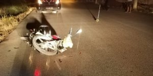 Konya'da motosiklet yayaya çarptı: 2 yaralı