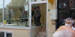 PTT şubesinde intihar şoku