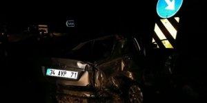Konya'daki kazada yaralanan sürücü hayatını kaybetti