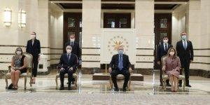 Cumhurbaşkanı Erdoğan, Fransa Büyükelçisini kabul etti
