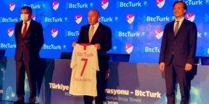 TFF ile BtcTurk arasında sponsorluk anlaşması imzalandı