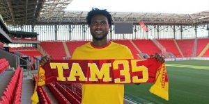 Göztepe, Nijeryalı golcü Brown Ideye'yi transfer etti