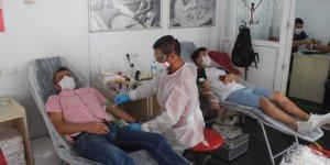 Karapınar'da kan bağışına destek