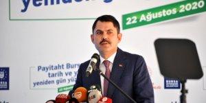 Bakan Kurum: 'Güçlü Türkiye'nin ayak seslerini, bütün dünyaya yeniden duyurdular'