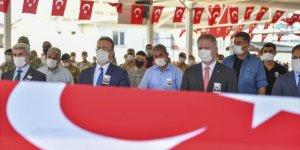 Şehit Hava Savunma Uzman Çavuş Bilal Yılmaz için Gaziantep'te tören düzenlendi