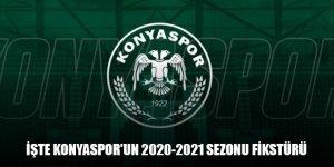 İşte Konyaspor'un 2020-2021 Sezonu fikstürü