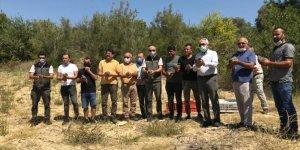 Antalya'da yüz kınalı keklik doğaya bırakıldı