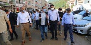 Çevre ve Şehircilik Bakanı Kurum, Dereli'de incelemelerde bulundu