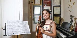 13 yaşındaki Elif Su, 10 uluslararası ödülle Türkiye'yi gururlandırdı