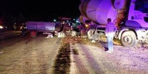 Çaldığı traktörle kaza yapan kişi öldü
