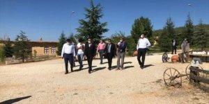Selçuk Üniversitesi Rektörü Prof. Dr. Aksoy, Hüyük'ü ziyaret etti