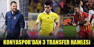 Konyaspor'dan 3 transfer hamlesi