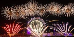 Londra'da Kovid-19 salgını nedeniyle yeni yıl etkinlikleri iptal edildi