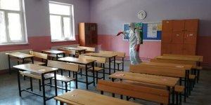 Derebucak'ta okullar yüz yüze eğitime hazır
