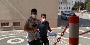 Akşehir'de hırsızlık zanlısı tutuklandı