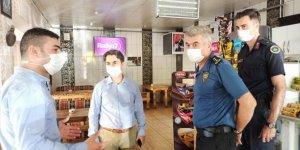 Seydişehir'de Kovid-19 tedbirleri denetimleri
