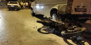 Devrilen motosikletin sürücüsü öldü