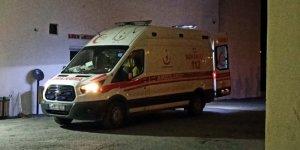 Şarampole devrilen kamyonetin sürücü öldü