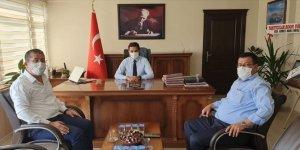 Karapınar'a atanan Kaymakam Oğuz Cem Murat göreve başladı