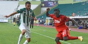 Konyaspor'da Shengelia göz doldurdu
