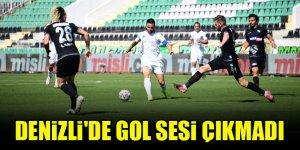 Denizli'de gol sesi çıkmadı...Denizlispor 0-0 Konyaspor