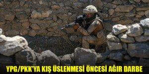 YPG/PKK'ya kış üslenmesi öncesi ağır darbe