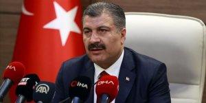 """Sağlık Bakanı Koca'dan Kovid-19'dan korunmada """"En iyi tedbir evimizdir"""" uyarısı"""