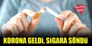 Dört kişiden biri sigarayı bıraktı