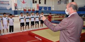 Başkan Pekyatırmacı sporcuların heyecanına ortak oldu