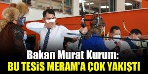 Bakan Murat Kurum: Bu tesis Meram'a çok yakıştı