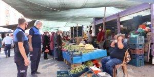 Beyşehir'de zabıtanın pazar yeri denetimleri
