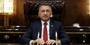 Cumhurbaşkanı Yardımcısı Oktay'dan Hakkari'de şehit olan işçi için başsağlığı mesajı