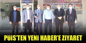 PÜİS'ten Yeni Haber'e ziyaret