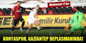 Konyaspor, Gaziantep deplasmanında!