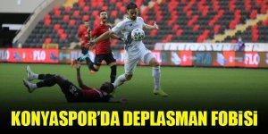 Konyaspor'da deplasman fobisi