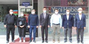 AK Parti Konya'dan gazetemize ziyaret