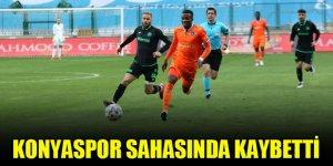 Konyaspor sahasında kaybetti!