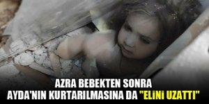 """Azra bebekten sonra Ayda'nın kurtarılmasına da """"elini uzattı"""""""
