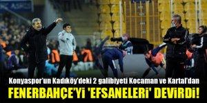 Fenerbahçe'yi 'efsaneleri' devirdi!