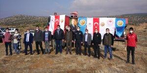 Bozkır'da 2 bin fidan toprakla buluşturuldu
