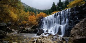 Toroslar'ın el değmemiş şelalelerinde sonbahar güzelliği