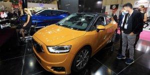 KKTC'nin yerli otomobili 'Günsel' MÜSİAD EXPO'da anavatanıyla buluştu