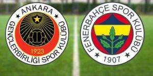Fenerbahçe, yarın Gençlerbirliği ile karşılaşacak