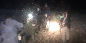 Türk karasularına geri itilen 27 sığınmacı kurtarıldı