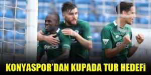 Konyaspor'dan kupada tur hedefi