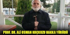 Prof. Dr. Ali Osman Koçkuzu vefat etti