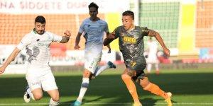 Alanyaspor, Konyaspor'u zorluyor