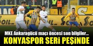 Konyaspor, Ankaragücü deplasmanında!