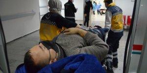 Kavgada kulağı ısırılarak koparılan kişi hastaneye kaldırıldı